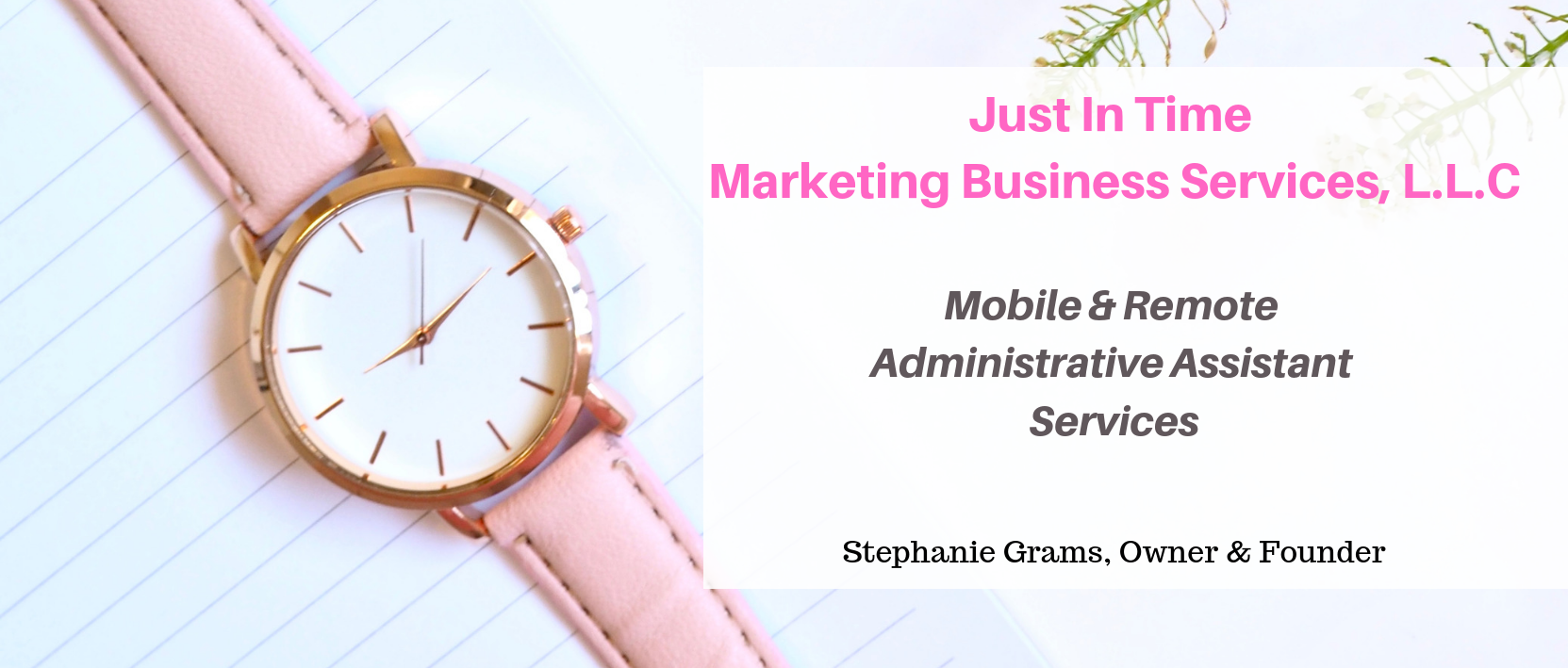 mobile and remote administrative marketing business services