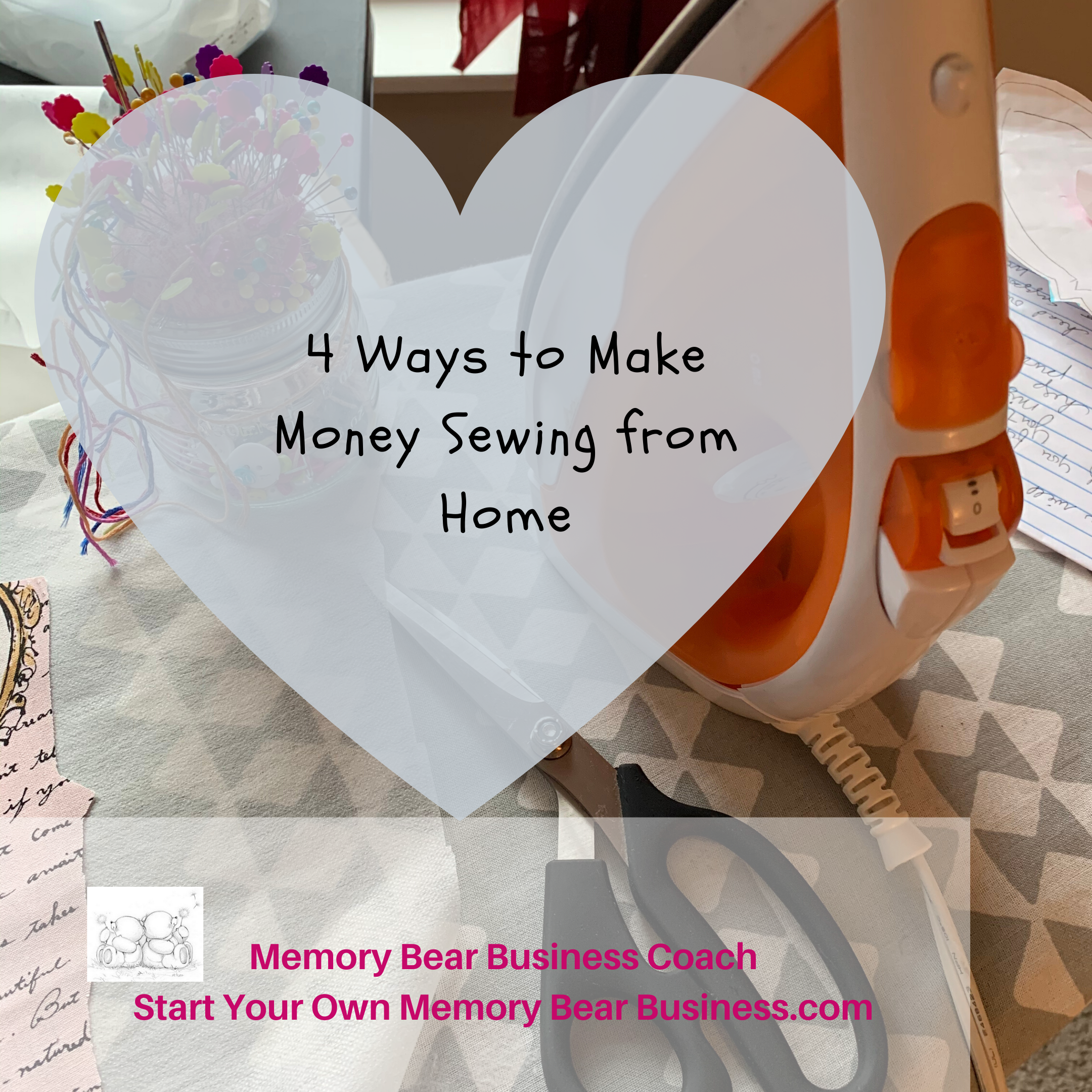 4 ways to make money from home sewing