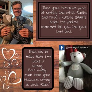 memory bear sewing services ohio